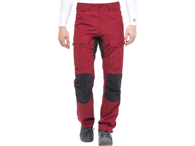 Lundhags Authentic Pantalon Homme, red